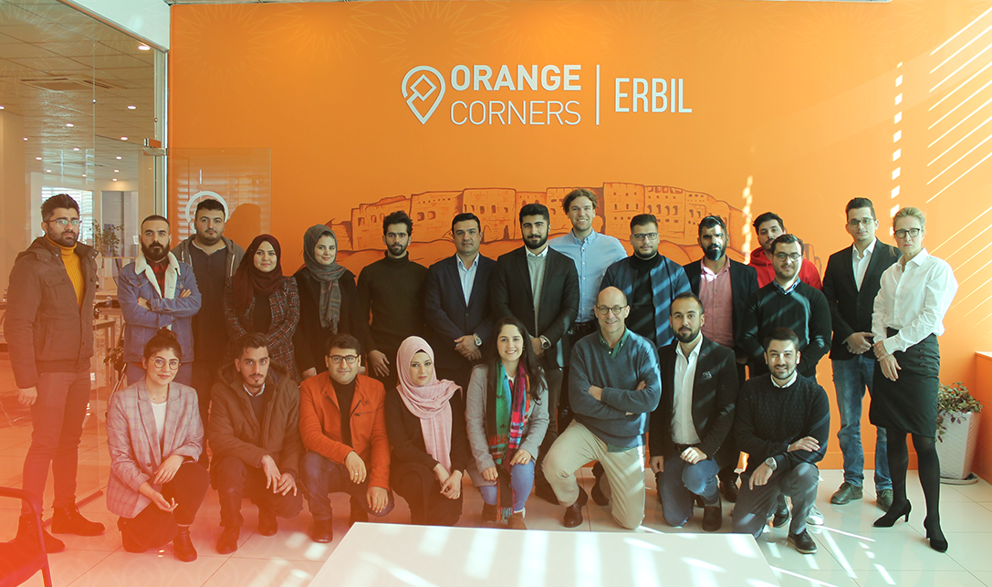 Introducing Orange Corners Erbil Incubatees!