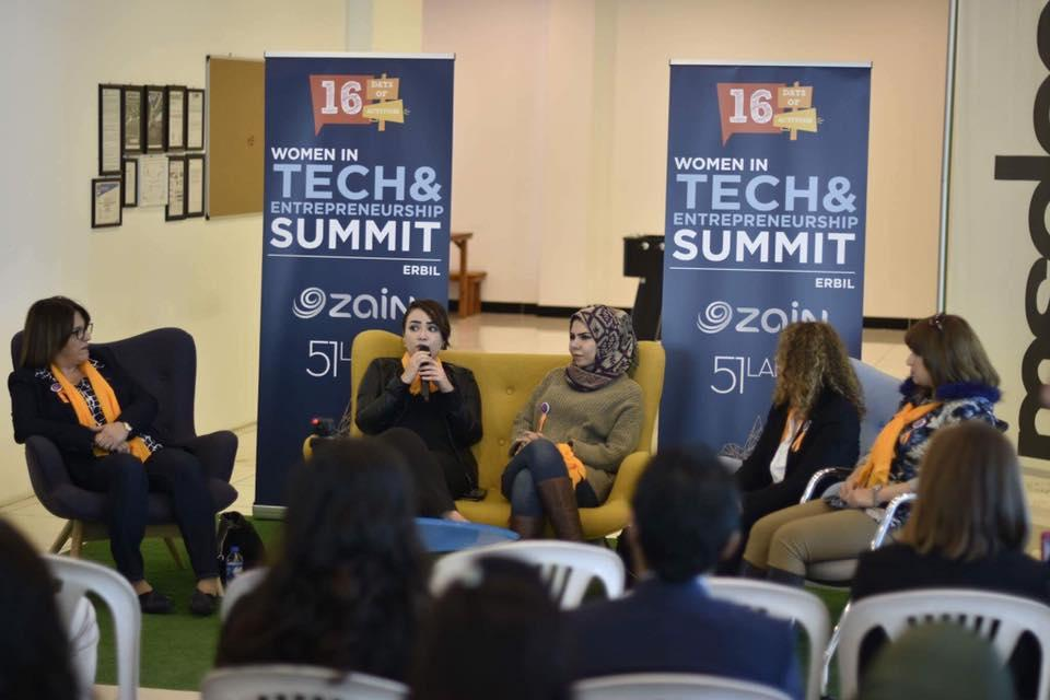 Women in Tech and Entrepreneurship Summit in Erbil