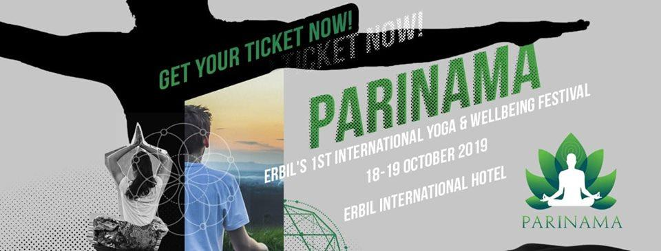 Parinama Yoga & Wellbeing Festival is coming to ERBIL! Parinama Yoga & Wellbeing Festival is coming to ERBIL!