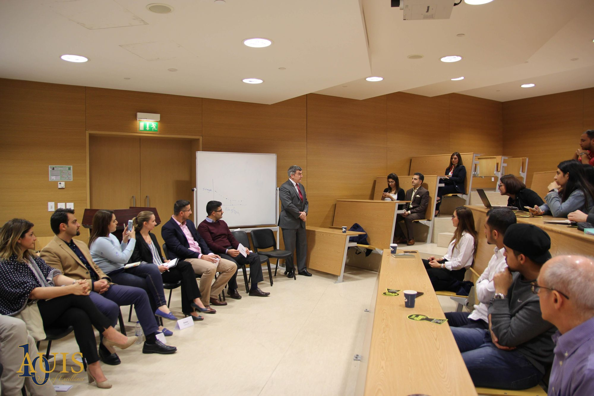 Entrepreneurship in Kurdistan Region & Iraq Panel at AUIS
