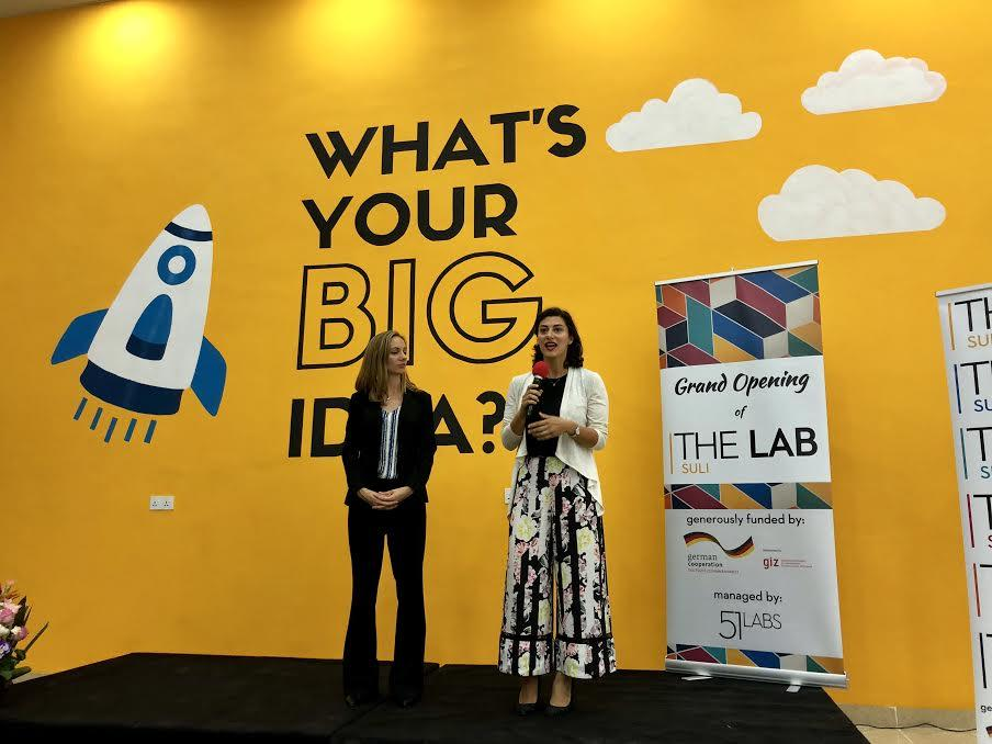 The Grand Opening of The Lab:Suli, Sulaimani's first co-working space